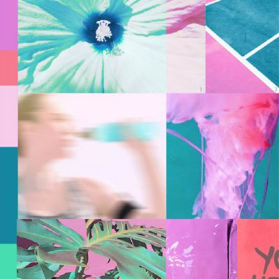 BUBBLEGUM PINK Active colour moodboard S/S 2019