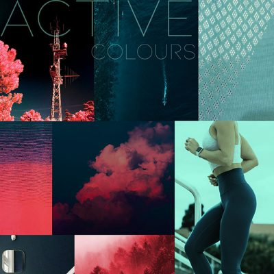 How to use Living coral for active wear A/W 19/20