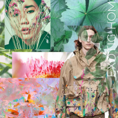 EXOTIC HOME Active Moodboard S/S 2021