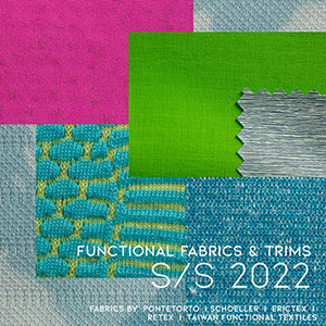 S/S 2022 Functional fabric trends PERFORMANCE DAYS Munich