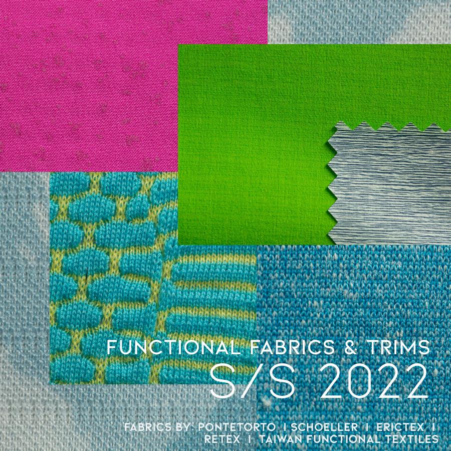 Functional fabrics S/S 2022