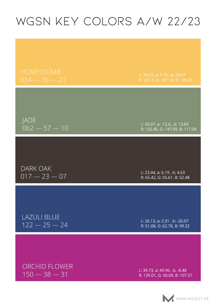 colors AW 22/23