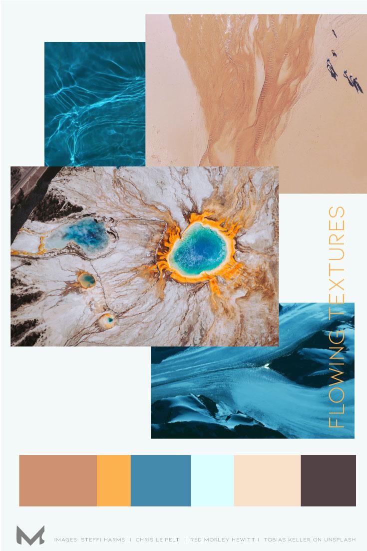 flowing textures